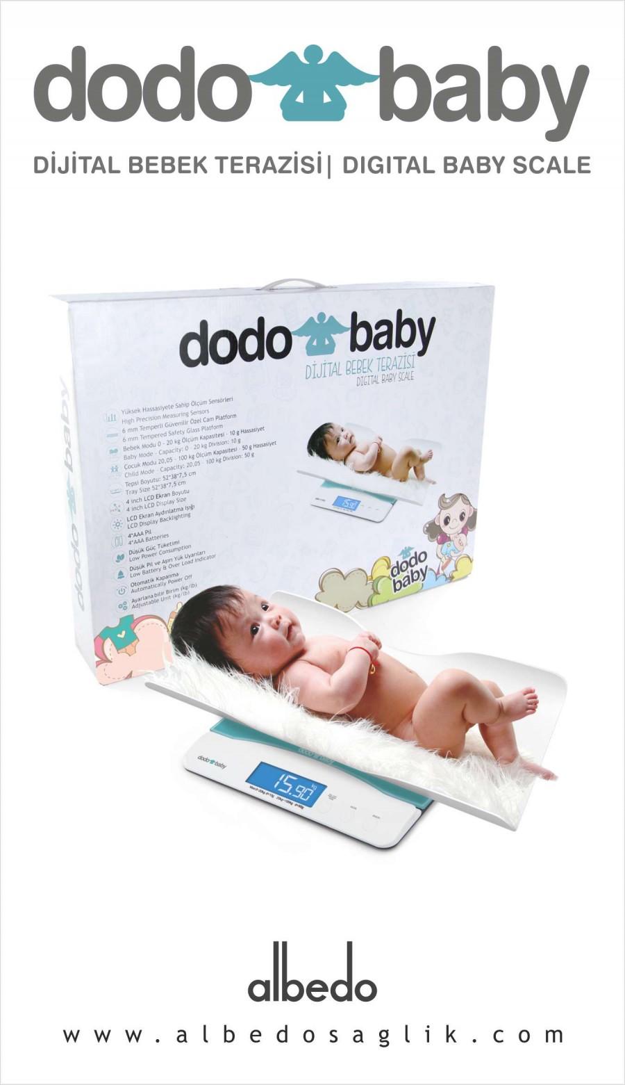 Dodo Baby - Anne Bebek Baskülü